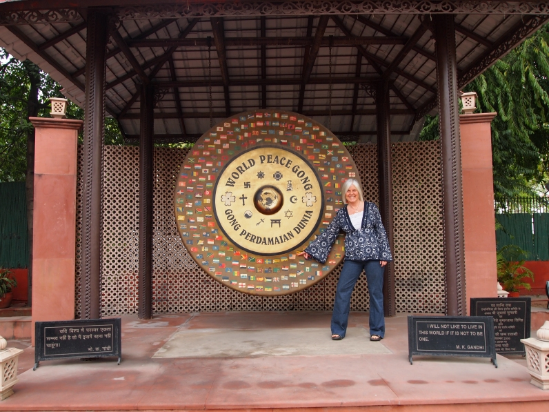 me with the Peace Gong