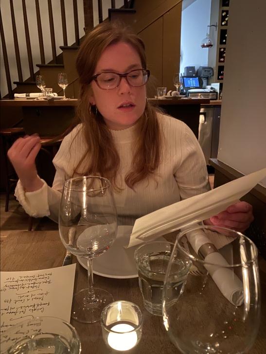 Sarah at Chez Nous