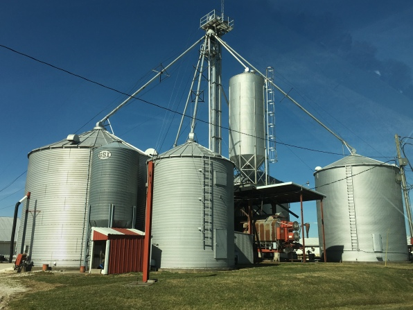 silos in Indiana