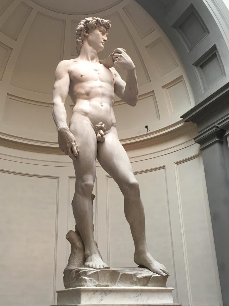 Michelangelo's David at Accademia