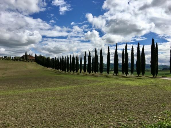 outside Bagno Vignoni