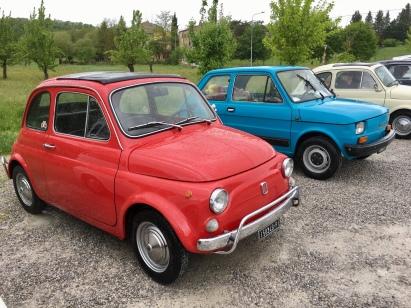 Fiat 500 Club in Asciano