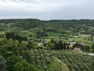 view from Orvieto