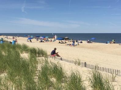 beach at Rehoboth, DE
