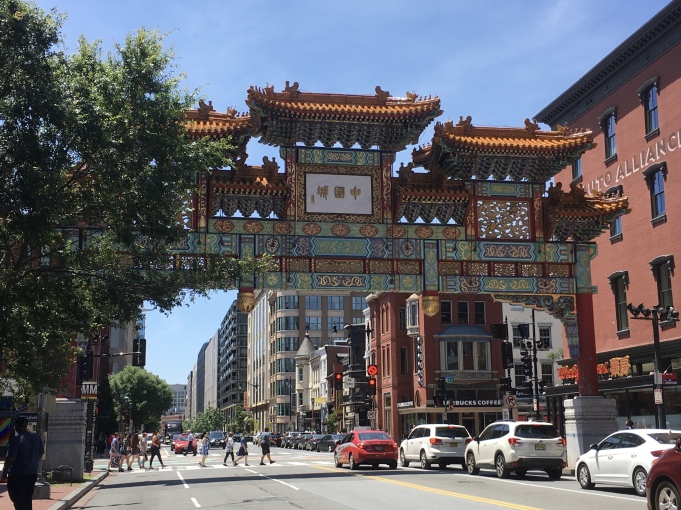 gate to Chinatown in D.C.