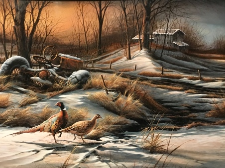 Terry Redlin's paintings at the Redlin Art Center in Watertown, SD