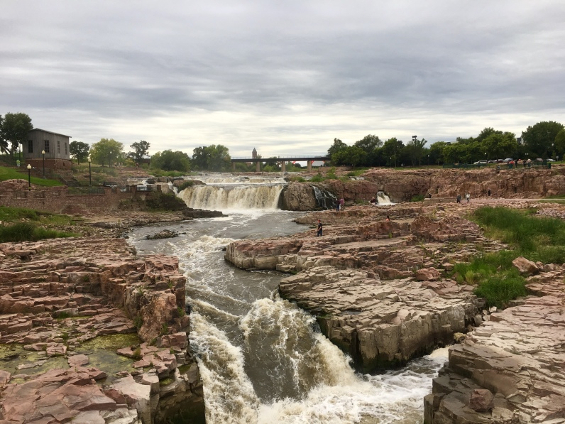 Falls Park in Sioux Falls, SD