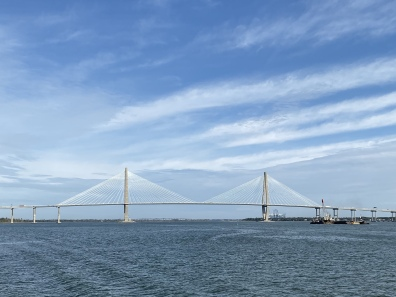 The Arthur Ravenal Bridge in Charleston