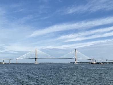 The Arthur Ravenal Bridge in Charleston
