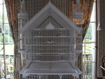 bird cage in the Conservatory