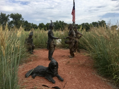 First Council statue at Fort Atkinson State Historical Park, NE