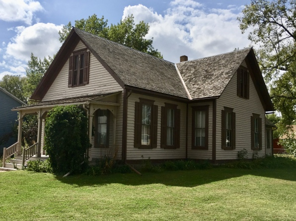 Willa Cather's home in Red Cloud, NE