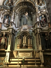 chapels at Santiago Cathedral