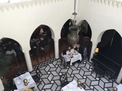 inside Rick's Cafe