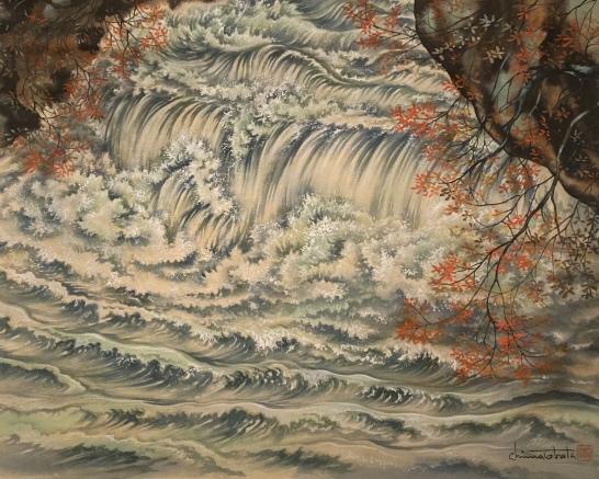 Painting by Chiura Obata at SAAM