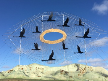 The Enchanted Highway in North Dakota