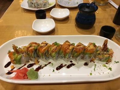 sushi night out - Jan 11
