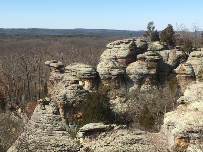 Garden of the Gods in the Shawnee National Forest, Illinois
