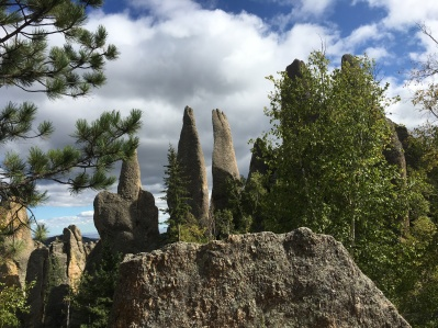 Needles Highway in Custer State Park