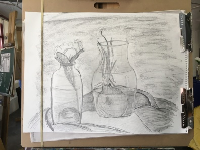 my last drawing in class