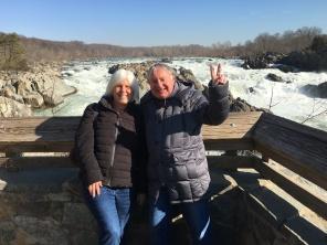 me with Graham at Great Falls, VA