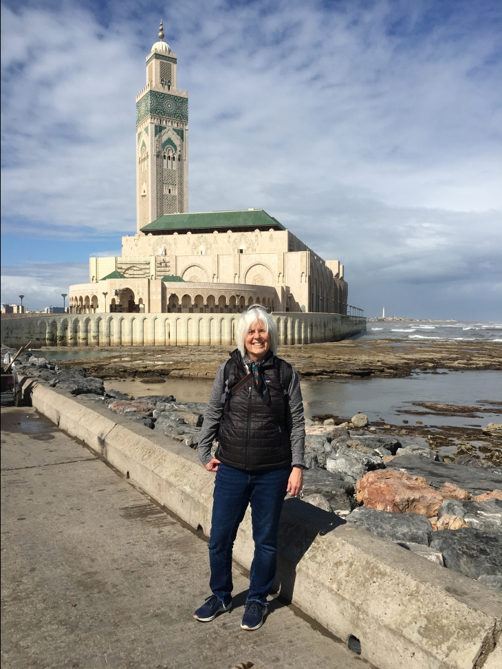 me and Hassan II Mosque