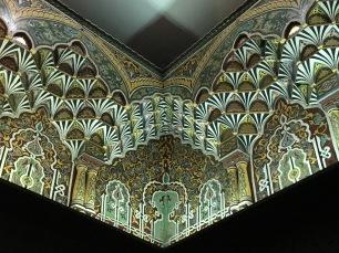 interior decor in the mosque