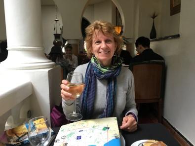 Susan at Rick's Cafe