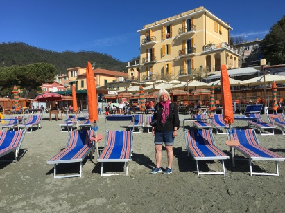 me at Monterosso al Mare in the Cinque Terre
