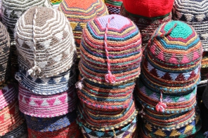 hats in Marrakech