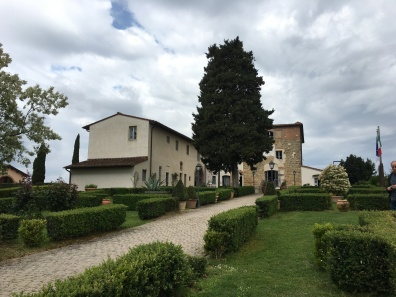 our Airbnb outside San Gimignano