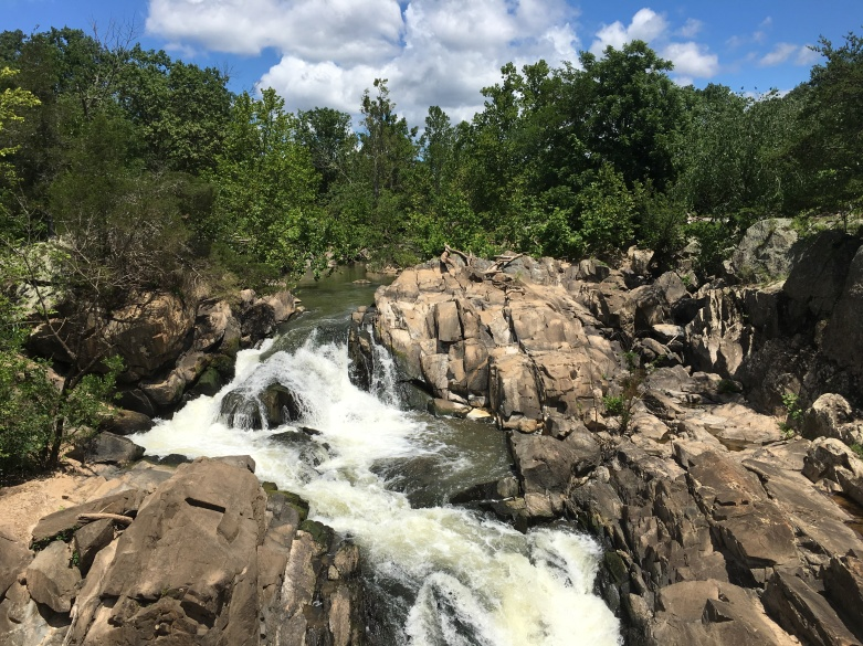 Great Falls, Maryland side