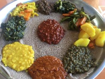 Enatye Ethiopian food