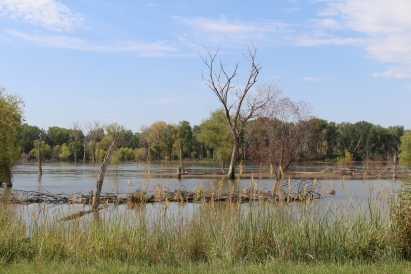 Missouri River at De Soto National Wildlife Refuge