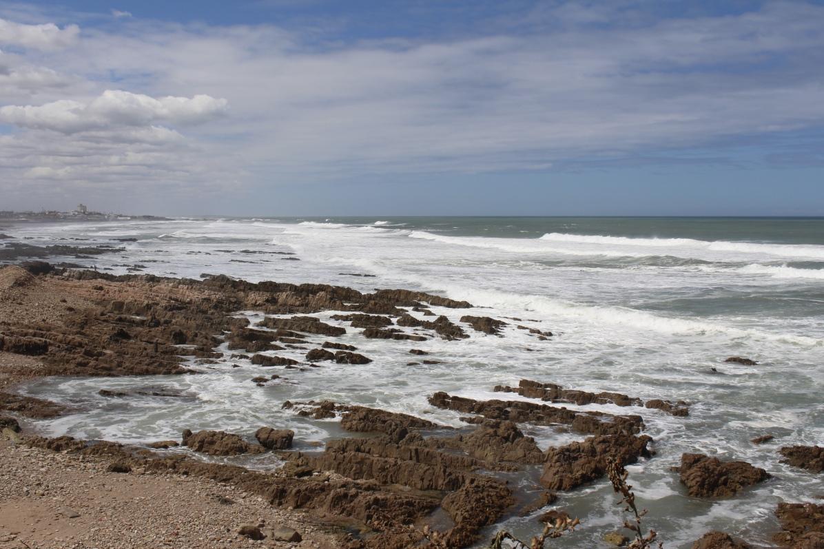 the sea off Casablanca