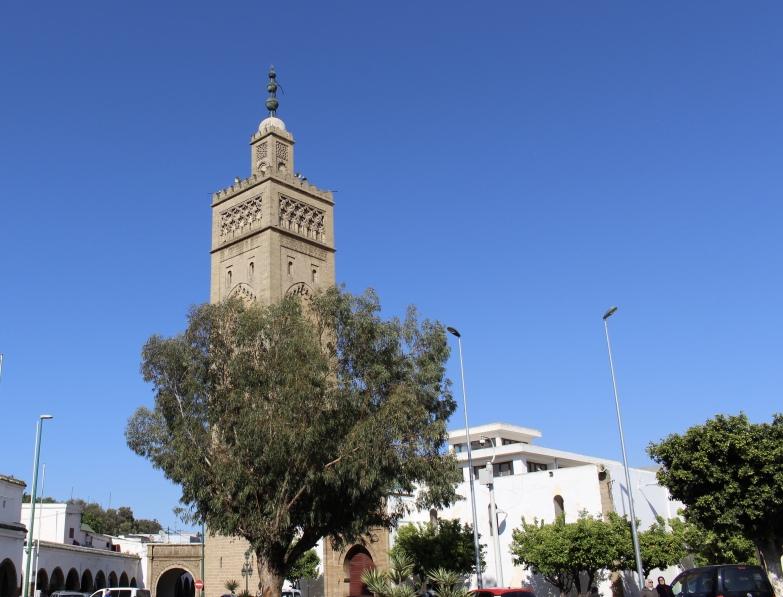 mosque at Quartier des Habous