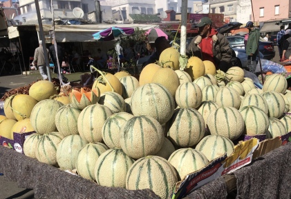 melons at Quartier des Habous