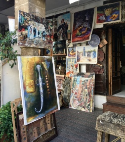 paintings at Quartier des Habous