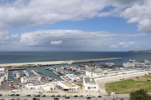 Tangier's port