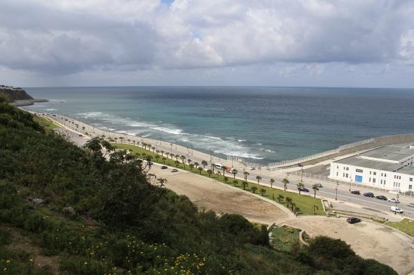 Tangier's corniche