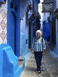 me in Chefchaouen
