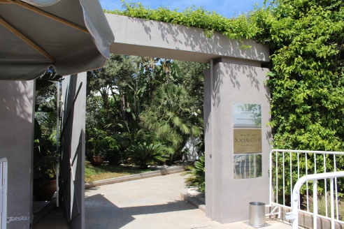 entrance to Cabestan