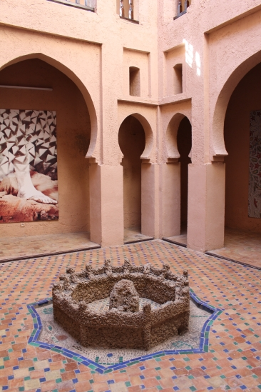 courtyard in the Ethnography Museum
