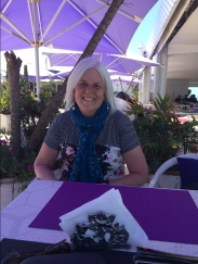 me at Terrasse Café
