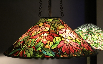 Tiffany lamps at Museum of Shenandoah Valley in Winchester, VA