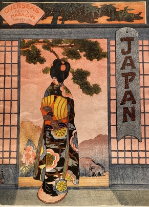The Dawn of the New Year, cover of Japan magazine (Jan. 1925)