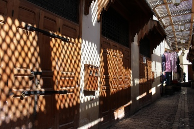 lattice shadows in the medina