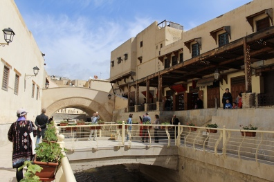 a canal in the medina