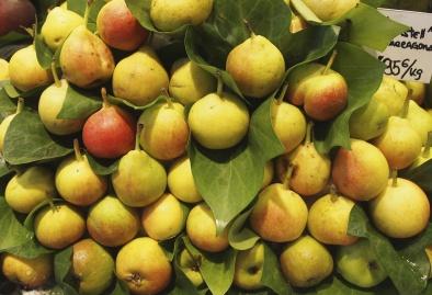pears in Barcelona
