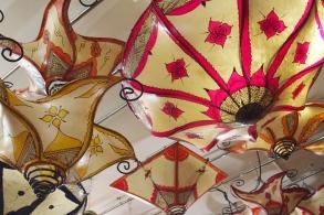 lanterns in Spain